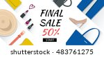 shopping fashion banner with...