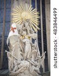 Small photo of Capistran Chancel Adjacent To The Catacomb Entrance Of St. Stephen's Cathedral, Vienna, Austria