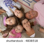 family in the home | Shutterstock . vector #4838518