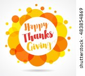 season design style happy... | Shutterstock .eps vector #483854869