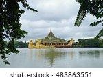 yangon  myanmar.   sep3 2016... | Shutterstock . vector #483863551