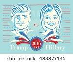september 15  2016  donald... | Shutterstock .eps vector #483879145