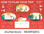 how to plan your trip... | Shutterstock .eps vector #483896851