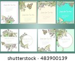 set hand drawn vector... | Shutterstock .eps vector #483900139