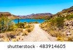 Canyon Lake And The Desert...