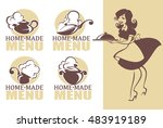 home made food  vector icon ...