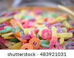 Gummy Candy Sour Sugar Sweets...
