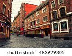 Old Red Brick Buildings In The...
