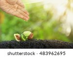 new development and renewal as... | Shutterstock . vector #483962695