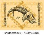 vector sketch illustration ...   Shutterstock .eps vector #483988801