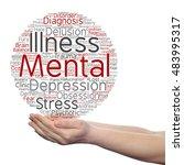 concept conceptual mental... | Shutterstock . vector #483995317