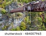 queenstown  nz  15 april 2016   ...   Shutterstock . vector #484007965
