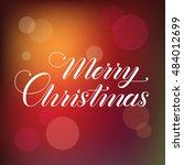 merry christmas. christmas...   Shutterstock .eps vector #484012699