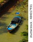Small photo of KOH LANTA, THAILAND - January, 2014: Fishing boat on the Andaman Sea on Koh Lanta, Thailand