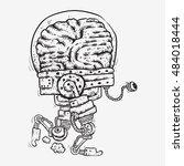Robot Bionic Brain Tired Of...