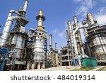 industrial plant | Shutterstock . vector #484019314