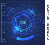 science hud abstract background....