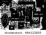 the painting  which contains a...   Shutterstock .eps vector #484122835