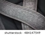 close up to gray bag. closeup... | Shutterstock . vector #484147549