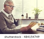 reading relaxation pension... | Shutterstock . vector #484154749