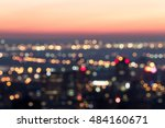 montreal skyline at daw  night... | Shutterstock . vector #484160671