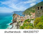 landscape vernazza  cinque... | Shutterstock . vector #484200757