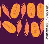 seamless horizontal pattern... | Shutterstock .eps vector #484201504