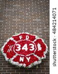 New York   Sept 9 2016  Wreath...