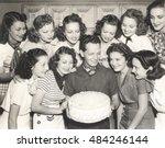 a birthday wish come true | Shutterstock . vector #484246144