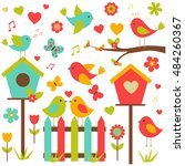 Vector Set Of Nature Themed....