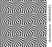 geometric monochrome pattern... | Shutterstock . vector #484264651