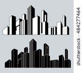 vector illustration. cityscape. ...   Shutterstock .eps vector #484277464