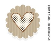 heart love shape | Shutterstock .eps vector #484311085