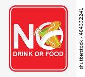 vector symbol of no drink or...   Shutterstock .eps vector #484332241
