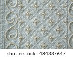 hand made embroidery bead ... | Shutterstock . vector #484337647