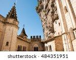 streets of rocamadour  a...   Shutterstock . vector #484351951
