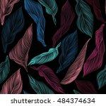 bright  rich design seamless... | Shutterstock .eps vector #484374634