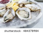 Fresh Oysters Platter With...