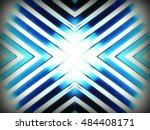 futuristic chrome background | Shutterstock . vector #484408171