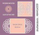 diy laser cutting vector... | Shutterstock .eps vector #484416559