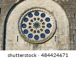 Detail On The Rose Window Of...
