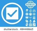 check icon with bonus elements. ...
