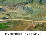 beautiful terraced rice field... | Shutterstock . vector #484452439