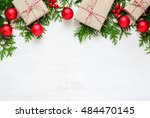 christmas or new year... | Shutterstock . vector #484470145