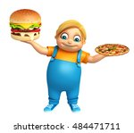 3d rendered illustration of kid ... | Shutterstock . vector #484471711