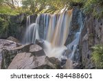 waterfall at tullydermot  in co.... | Shutterstock . vector #484488601