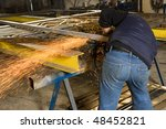 forging iron | Shutterstock . vector #48452821