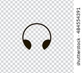 headphone icon vector  clip art....