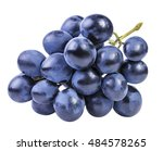 grapes isolated on the white... | Shutterstock . vector #484578265