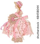 Ribbon Paper Doll